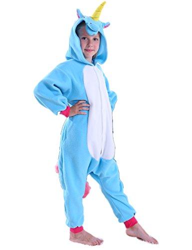 corn Onesie Pajamas Cosplay Halloween Costume for Girls and Boys ()