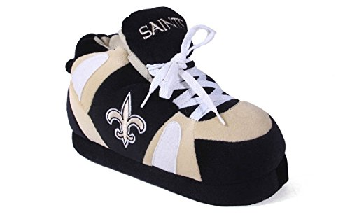Slippers NFL and Comfy OFFICIALLY Saints Feet Sneaker Womens Orleans Feet New Happy amp; Mens LICENSED aqPzgpfw
