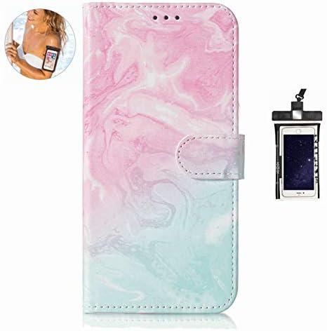 耐摩擦 手帳型 Samsung Galaxy S7 ケース 対応 本革 レザー手帳型スマホケース カバー 財布型 機能 耐汚れ カードポケット 全面保護 人気[無料付防水ポーチ]