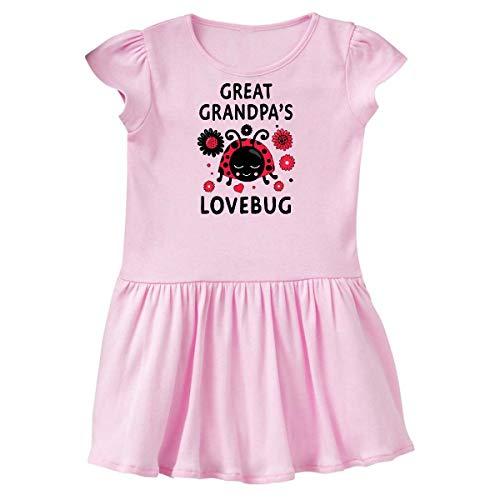 inktastic Valentine's Day Great Grandpa's Toddler Dress 3T Ballerina Pink 394f7