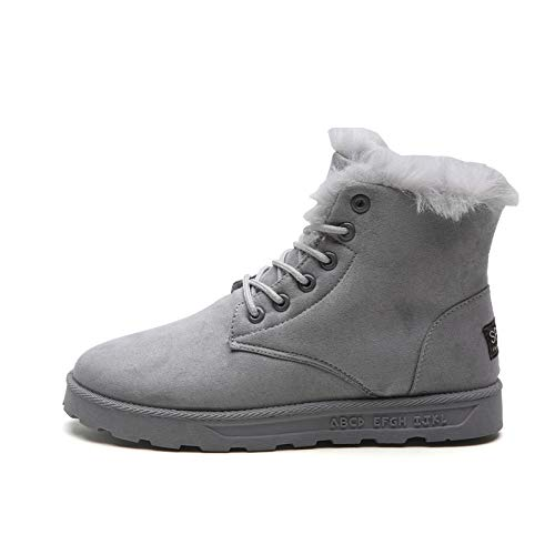 Hombre Fhcgmx Vintage Cálidas Botas Informales Felpa Calidad Shoes De Gray Para Nieve Invierno Estilo wqXnCarqZ