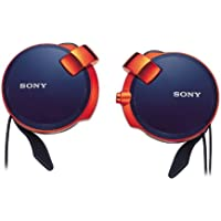Sony Clip-on Stereo Headphones with Retractable | MDR-Q38LW LI Spicy Blue(Japan Import)