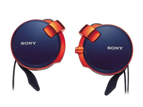 Sony Clip-on Stereo Headphones with Retractable | MDR-Q38LW LI Spicy Blue(Japan - Mall Bridge Shops