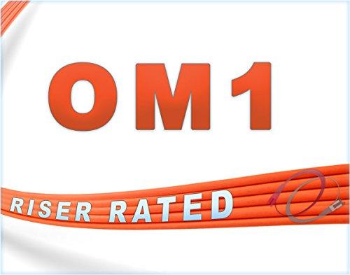 FiberCablesDirect - 150M OM1 SC SC Fiber Patch Cable | 1Gb Duplex 62.5/125 SC to SC Multimode Jumper 150 Meter (492.12ft) | Length Options: 0.5M - 300M | 1gb 10gb mmf sc-UPC sfp 1gbase PVC ofnr sc-sc by FiberCablesDirect (Image #4)