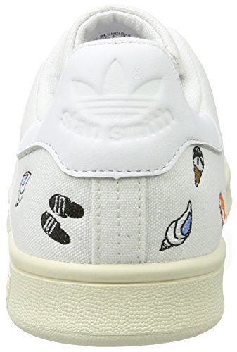 White off Blanc Baskets Stan White footwear Mode Femme footwear White Smith Adidas x4OXvxP