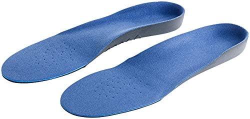 PEARL sports Memory Foam Sohle: Komfort-Schuheinlage, gepolsterte Fersen- & Ballenregion, Gr. 43-46 (Einlage)