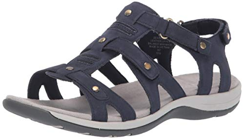Easy Spirit Women's Sailors Sandal, Blue, 8.5 M US