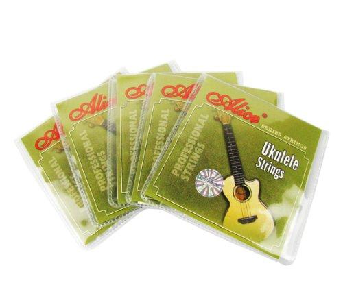 Alice Ukulele Transparent Nylon String Set Pack of 5sets