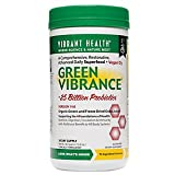Vibrant Health - Green Vibrance, Plant-based Daily Superfood + Protein and Antioxidants, 84 Servings (FFP)