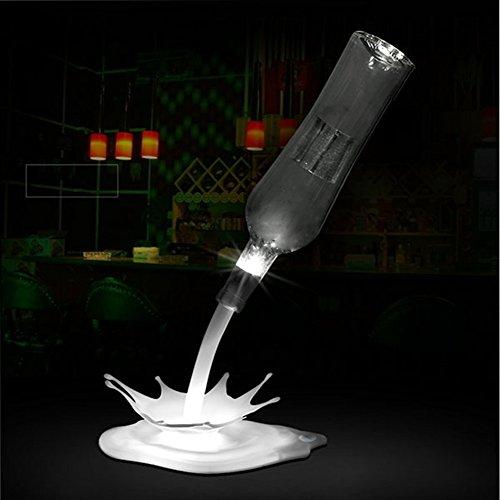 wine bottle lamp elstey led illusion diy bottles light. Black Bedroom Furniture Sets. Home Design Ideas