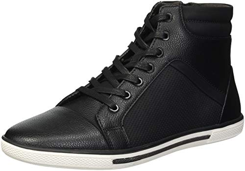 Unlisted by Kenneth Cole Men's Crown Worthy Sneaker, Black Combo, 11.5 M (Black Combo Apparel)