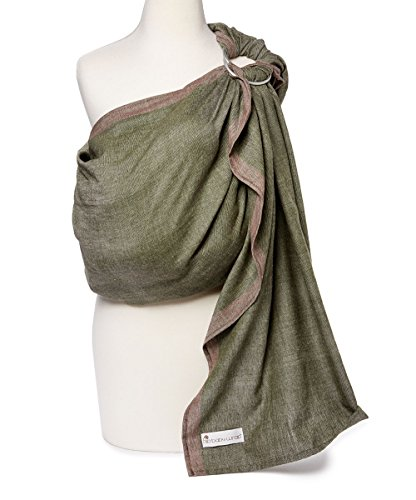 Hip Baby Wrap Ring Sling Baby Carrier for Infants and Toddlers (Sahara)