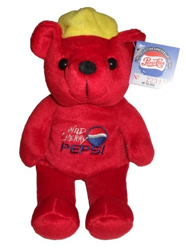 (Dart Flipcards Inc. Pepsi Cola 100th Anniversary 1999 Bear#1-Wild Cherry Bear)