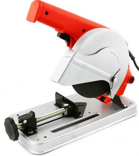 GHP 8300RPM Max Rate 7/8'' Arbor Bevel Cutting Spindle Lock Cut-off Saw with 7'' Wheel