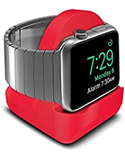 AWINNER Compact Stand Compatible with iWatch Series 4,Series 3, Series 2, Series 1 - Nightstand Mode Compatible - Support Stand with Integrated Cable Management Slot (38mm & 42mm Compatible)