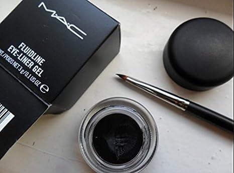 M.A.C. Fluidline Eyeliner Gel- Blacktrack: Review, swatch, EOTD