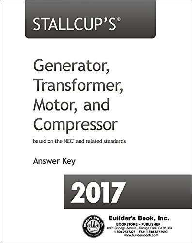 2017 Stallcup's Generator, Transformer, Motor & Compressor Answer Key