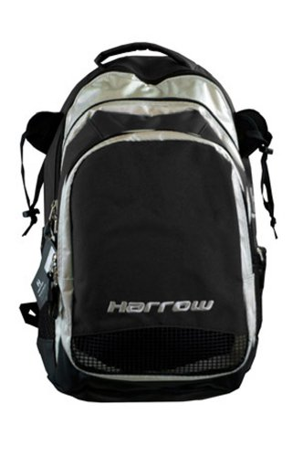 Field Hockey Bag (Harrow Elite Backpack, Black/Silver)
