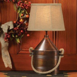 Copper Canteen Lamp