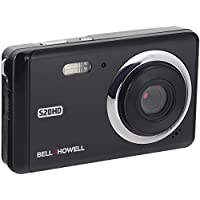 Bell+Howell 20 Megapixels Digital Camera with 1080p Full HD Video with 3 LCD, Black (S20HD-BK)