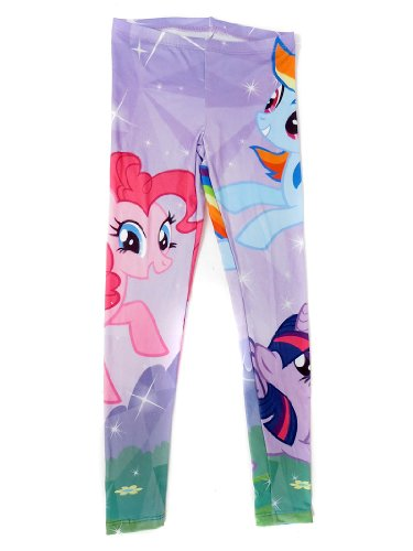 My Little Pony Allover Print Girls Leggings