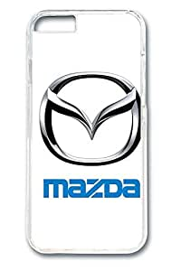 iPhone 6 Case - Protective Fitted Smooth Cover Case for iPhone 6 Mazda Car Logo 2 Clear Hard Back Bumper Cases for iPhone 6 4.7 Inches