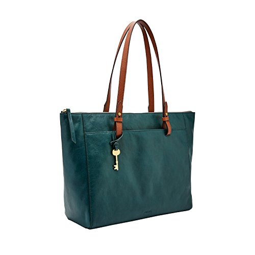 Fossil Rachel Tote Indian Teal