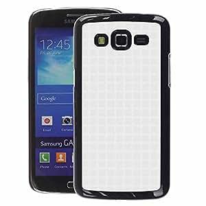 A-type Arte & diseño plástico duro Fundas Cover Cubre Hard Case Cover para Samsung Galaxy Grand 2 (Fabric Textile Fashion Subtle)