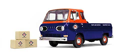 First Gear 1/25 scale Diecast Collectible Allis-Chalmers 1960s Ford Econoline Pickup with Three Boxes (Ford Econoline Pickup)