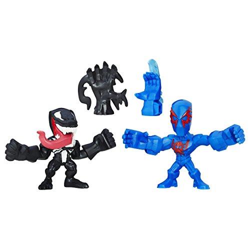 Marvel Avengers Super Hero Mashers Spider Man 2099 and Venom Action Figure (Super Heroes Avengers)