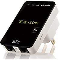 Wi-Fi Range Extender - Eliminates Wi-Fi Dead Zones - 300Mbps Wi-Fi Repeater - Router - Access Point