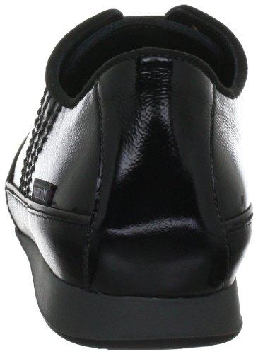 8600 2200 para BLACK de 10103 P5104584 casual VERNIS Mephisto mujer Negro BRENIA Zapatos FR 1000 cuero nXw0AxIOB