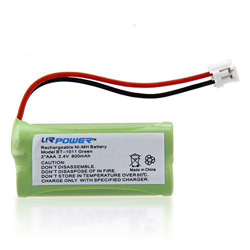 URPOWER® 3 Packs 2.4V Rechargeable Home Cordless Phone Battery for Uniden BT101 BT-1011 BT1011 BT-1018 BT1018 VTech AT&T/Lucent BT184342 BT-184342 BT284342 BT-28433 BT6010 BT8000 BT8001 BT8300 AT&T 3101 BT8001 SL80108 SL82318 SL82218 TL86109 Motorola T31