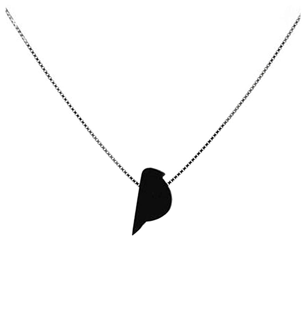 "Charm 18/"" Italian Box Chain Sterling Silver Female Symbol Pendant"