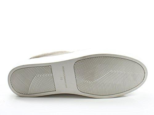 Rebecca Minkoff Womens 10m Noelle Platform Sneaker Gray 10