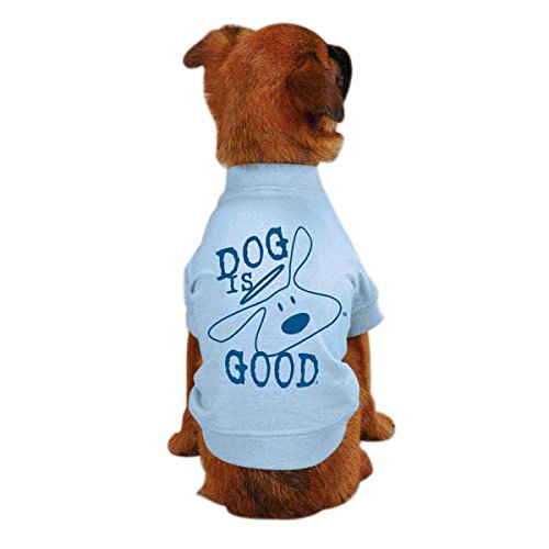 DogIsGood Solid Bolo Tee for Pets, XX-Small, Angel Falls by DogIsGood