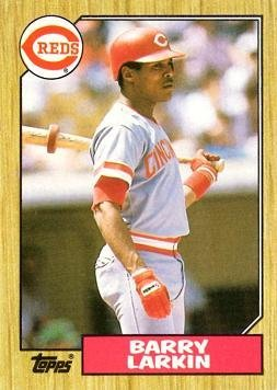 1987 Topps Baseball #648 Barry Larkin Rookie Card