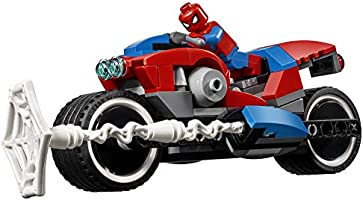 Mu... 235 Piece LEGO 6251072 Marvel Spider-Man Bike Rescue 76113 Building Kit