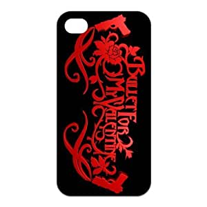 Danny Store 2015 New Arrival Protective Rubber Cover Case for iPhone 4,iPhone 4s Cases - Bullet for My Valentine