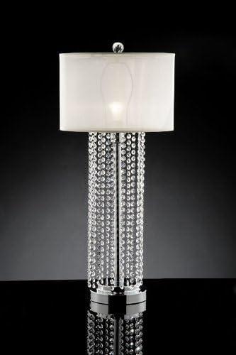 Delicate Rain Drop Crystal Table Lamp