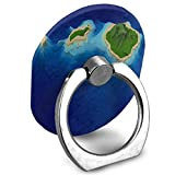 Cell Phone Holder Main Hawaiian Islands Ring Cell Phone Stand Adjustable 360 Degree Rotation Finger Ring Stand for IPad, Kindle, Phone X/6/6s/7/8/8 Plus/7, Galaxy S9/S9 Plus/S8/S7 Android Smartphone
