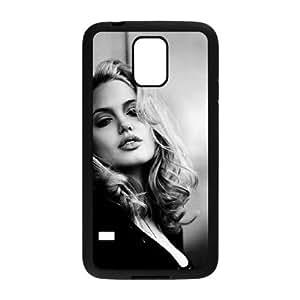 Angelina Jolie CU68FL8 funda Samsung Galaxy S5 caso del teléfono celular funda R2PX5X4YF