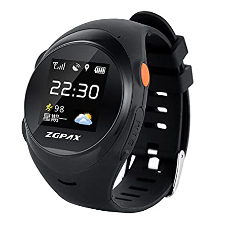 Ocamo Reloj de Pulsera, Mujer, Hombre, niña, niño, GPS, WiFi ...