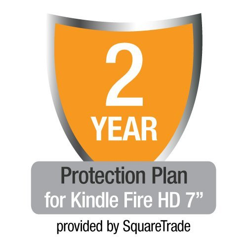 """2-Year SquareTrade Warranty plus Accident Protection for Kindle Fire HD 7"""" (Previous Generation)"""