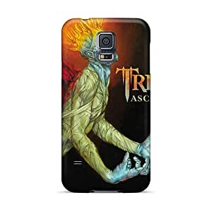 Shock Absorbent Hard Cell-phone Cases For Samsung Galaxy S5 (tPw2838XIIn) Customized Trendy Avenged Sevenfold Pictures