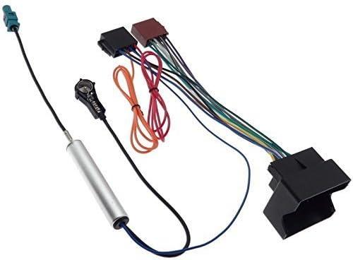 Adaptador de radio para Opel Quadlock ISO antena Fakra Phantom entrada cable conector