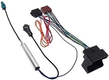 Opel - Adaptador de radio Quadlock ISO para antena Fakra