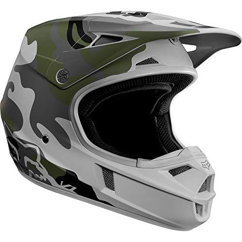 Fox Racing V1 SD SE Youth Boys Off-Road Motorcycle Helmets - Camo/Medium ()