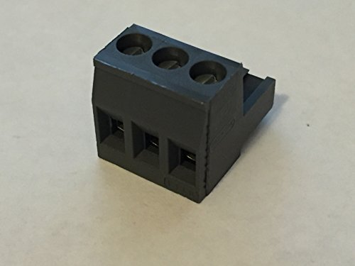 3 Pin, 3-pin power plug (Black) for Audio Control, Audiocontrol, Epicenter, Matrix Plus Overdrive Plus 3XS 2XS 6XS 24XS EQS DQL-8 EQP EQX EQL DQS DQX DQT DQXS