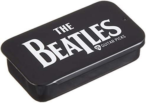 Planet Waves Beatles Stripes Picks  Medium Gauge in Collectable Tin 15 Pack